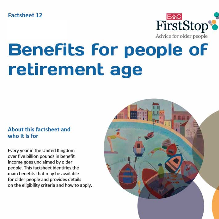 Benefits for people of retirement age